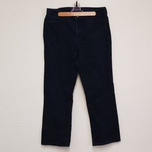 NYDJ Jean's Indigo Blue Boot Cut Stretch Sz 14